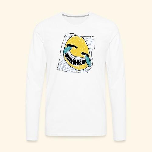 הנייר הזה שעל אלוהים - Men's Premium Long Sleeve T-Shirt