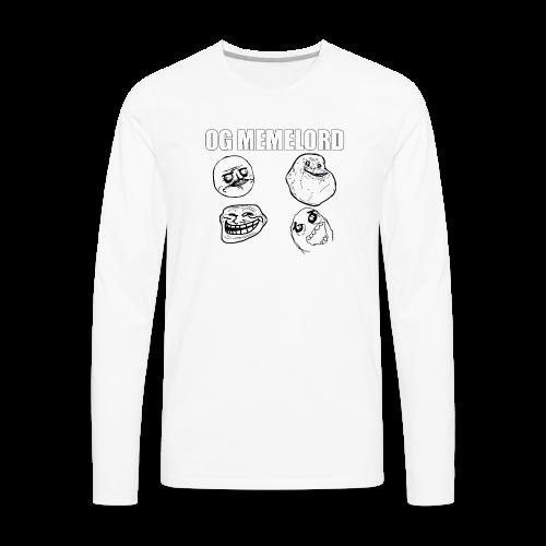 OG MEMELORD - Men's Premium Long Sleeve T-Shirt