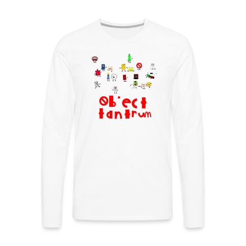 object tantrum cast - Men's Premium Long Sleeve T-Shirt
