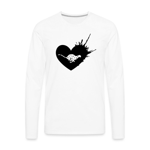 Cheetah Love - Men's Premium Long Sleeve T-Shirt