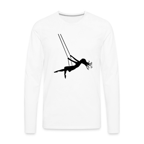 Swinging Girl - Men's Premium Long Sleeve T-Shirt