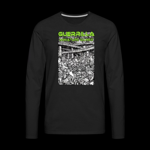 NEW GMG Tee - Men's Premium Long Sleeve T-Shirt