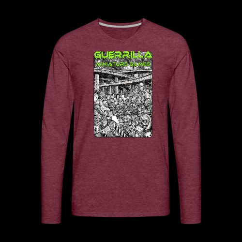 NEW GMG Tee - Men's Premium Long Sleeve T-Shirt