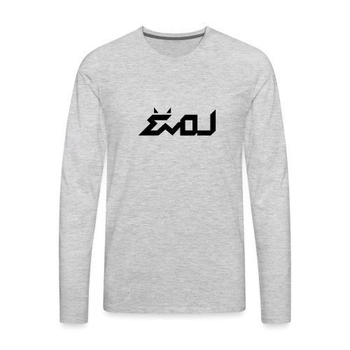 evol logo - Men's Premium Long Sleeve T-Shirt