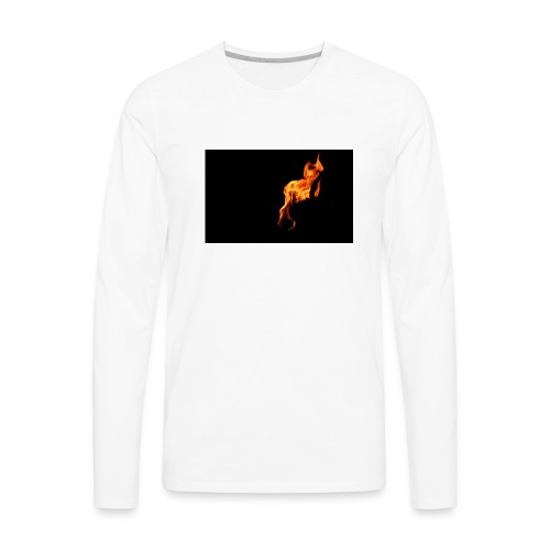 la flame - Men's Premium Long Sleeve T-Shirt