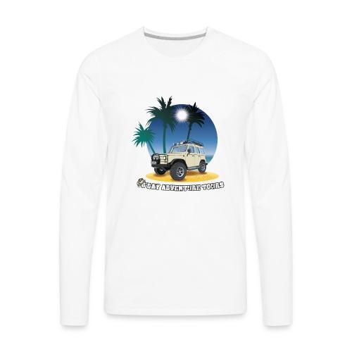 G'day Adventure Tours - Men's Premium Long Sleeve T-Shirt