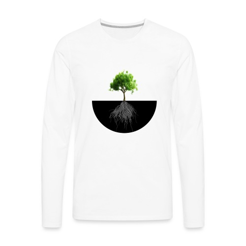An Instrumental Insight Into Life Album Cover - Men's Premium Long Sleeve T-Shirt