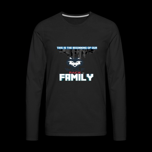 We Are Linked As One Big WolfPack Family - Men's Premium Long Sleeve T-Shirt