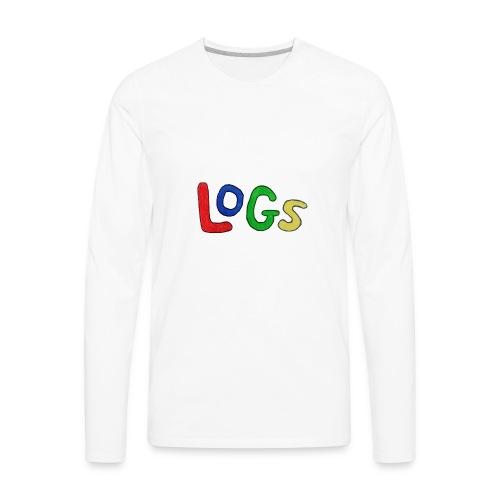 LOGS Design - Men's Premium Long Sleeve T-Shirt