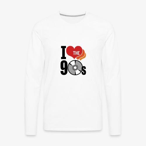 I love the 90s - Men's Premium Long Sleeve T-Shirt
