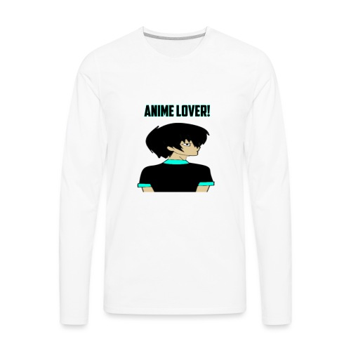 anime lover - Men's Premium Long Sleeve T-Shirt