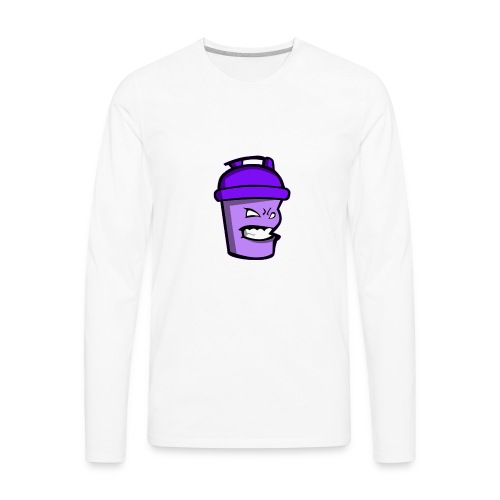 Protein playground shaker cup - Men's Premium Long Sleeve T-Shirt
