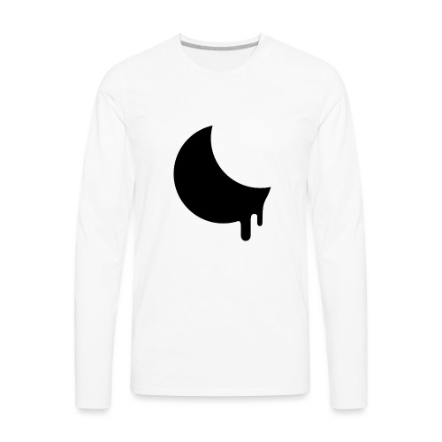 Moonmelt Inverted - Men's Premium Long Sleeve T-Shirt