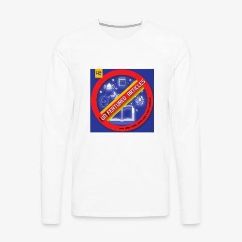 unFeatured Articles Cover - Men's Premium Long Sleeve T-Shirt