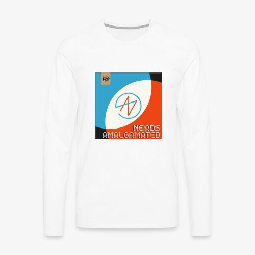 Top Shelf Nerds Cover - Men's Premium Long Sleeve T-Shirt