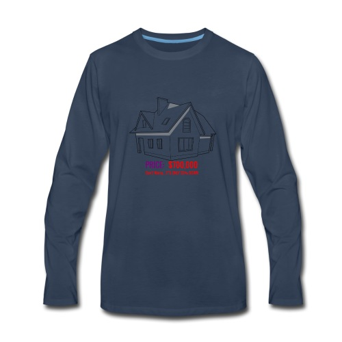 Fannie & Freddie Joke - Men's Premium Long Sleeve T-Shirt