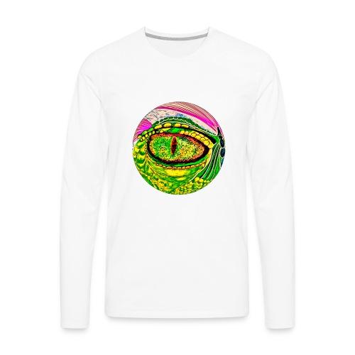 Dragon eye - Men's Premium Long Sleeve T-Shirt