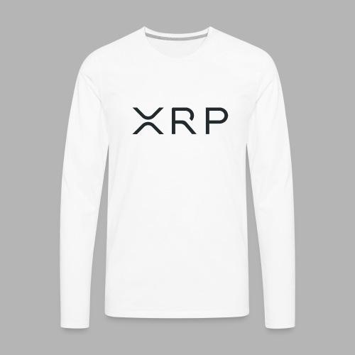 XRP BLACK - Men's Premium Long Sleeve T-Shirt