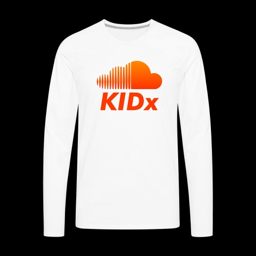 SOUNDCLOUD RAPPER KIDx - Men's Premium Long Sleeve T-Shirt