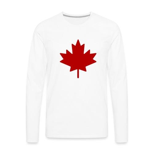 Make Canada Baked Again Mouse pad - Men's Premium Long Sleeve T-Shirt