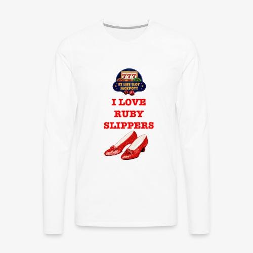 Ruby Slippers - Men's Premium Long Sleeve T-Shirt