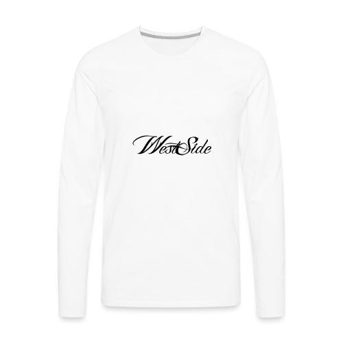 spreadshirtlogoblack - Men's Premium Long Sleeve T-Shirt