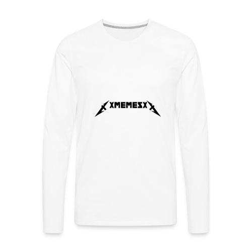 XMEMESX LOGO - Men's Premium Long Sleeve T-Shirt