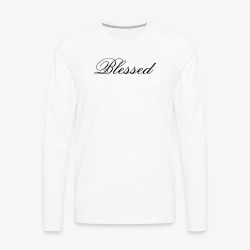 Blessed tshirt - Men's Premium Long Sleeve T-Shirt