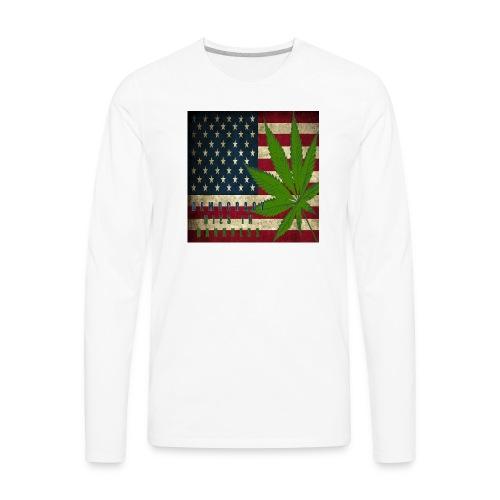 Political humor - Men's Premium Long Sleeve T-Shirt
