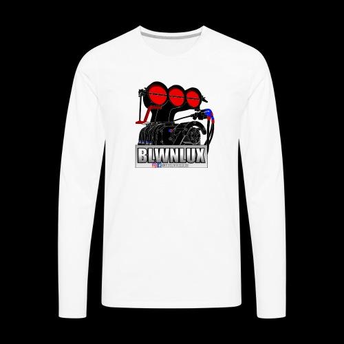 BLWNLUX (Engine) - Men's Premium Long Sleeve T-Shirt