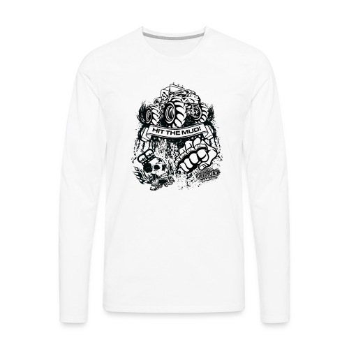 Mudding Jeep Shirt - Men's Premium Long Sleeve T-Shirt