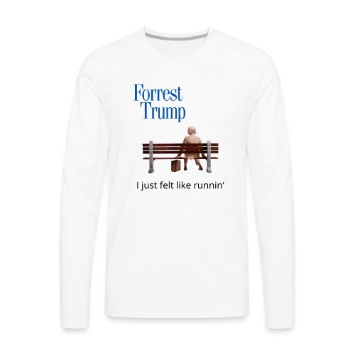 Forrest Trump - Men's Premium Long Sleeve T-Shirt