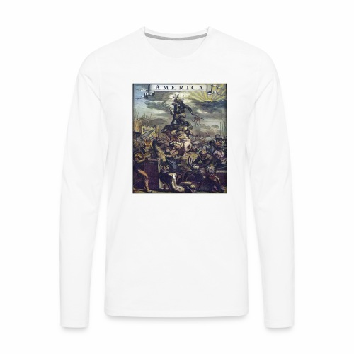 This Is America - Men's Premium Long Sleeve T-Shirt