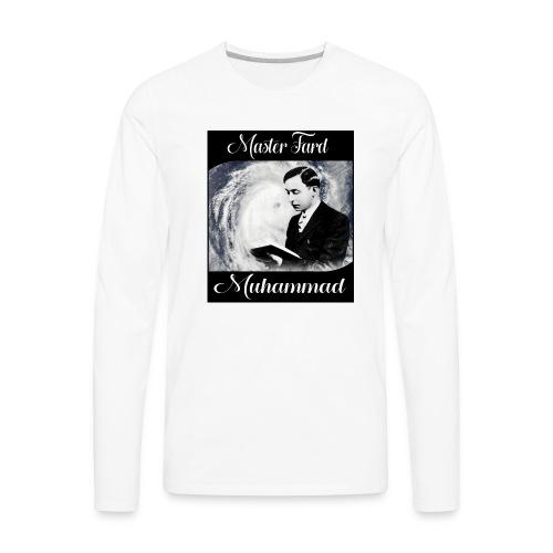 Master Fard Muhammad Hurricane Classic - Men's Premium Long Sleeve T-Shirt