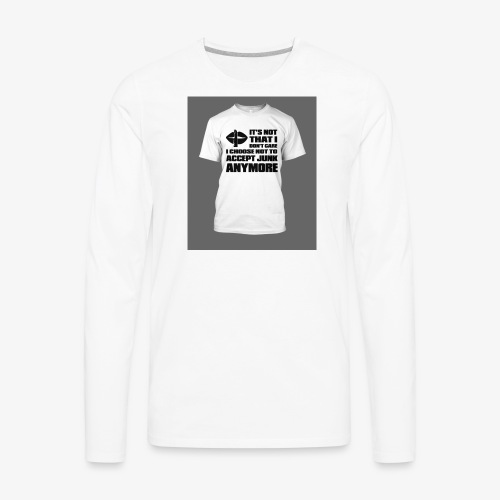 junk - Men's Premium Long Sleeve T-Shirt