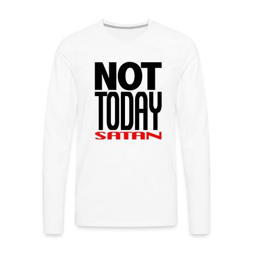 NTS BLK T Trans - Men's Premium Long Sleeve T-Shirt
