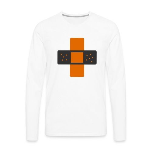 bloggingaid-icon - Men's Premium Long Sleeve T-Shirt