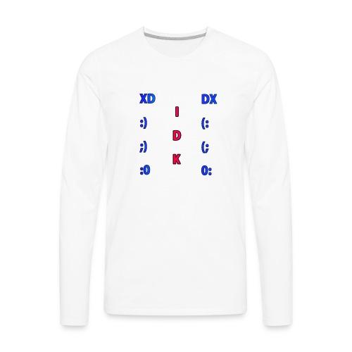 Many Faces! - Men's Premium Long Sleeve T-Shirt