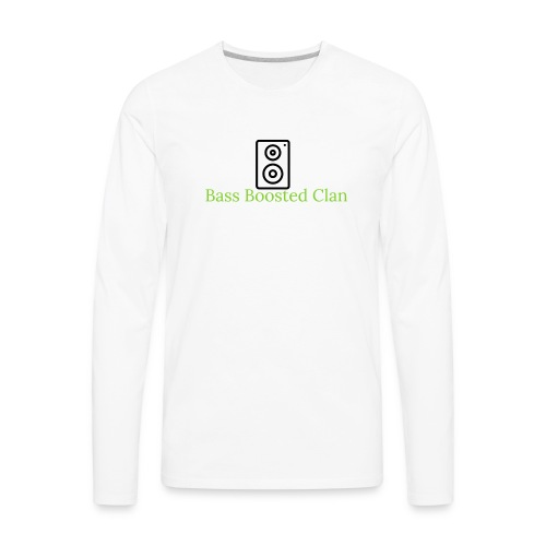 Bass Boosted Clan Brand - Men's Premium Long Sleeve T-Shirt