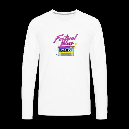 festival vibes - Men's Premium Long Sleeve T-Shirt