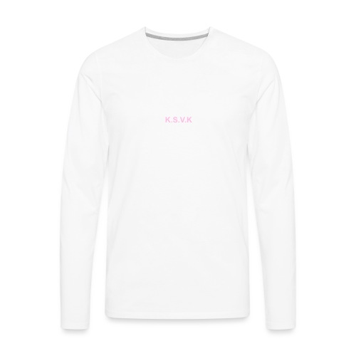 K.S.V.K Pink Edition - Men's Premium Long Sleeve T-Shirt