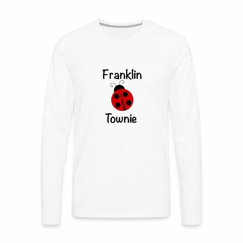 Franklin Townie Ladybug - Men's Premium Long Sleeve T-Shirt