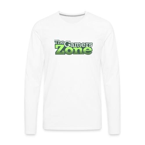 THE GAMERS ZONE - Men's Premium Long Sleeve T-Shirt