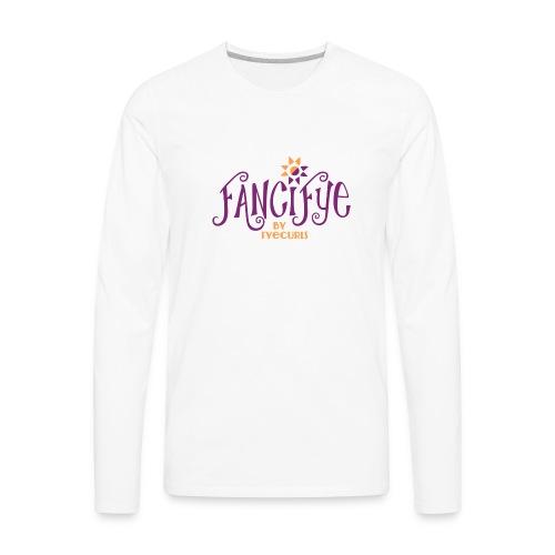 FanciFyeLogo - Men's Premium Long Sleeve T-Shirt