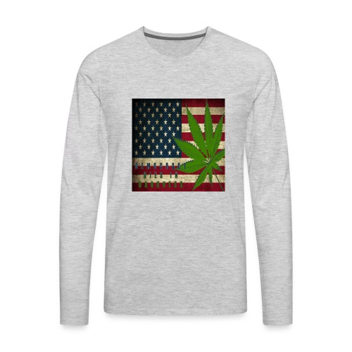 Political humor - Men's Premium Long Sleeve T-Shirt