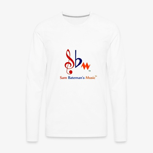 Sam Bateman's Music - Men's Premium Long Sleeve T-Shirt