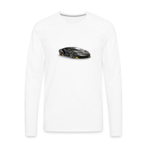 lambo shirts. - Men's Premium Long Sleeve T-Shirt
