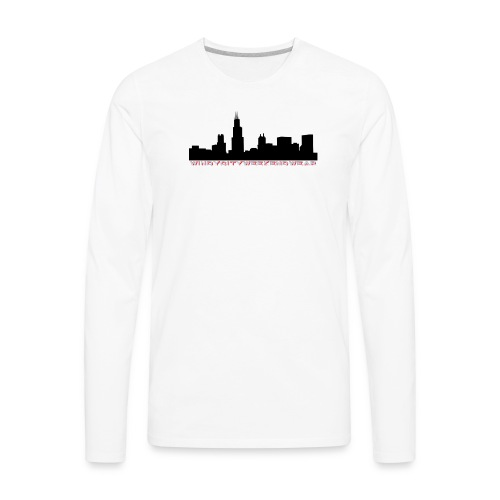 City Box Logo - Men's Premium Long Sleeve T-Shirt