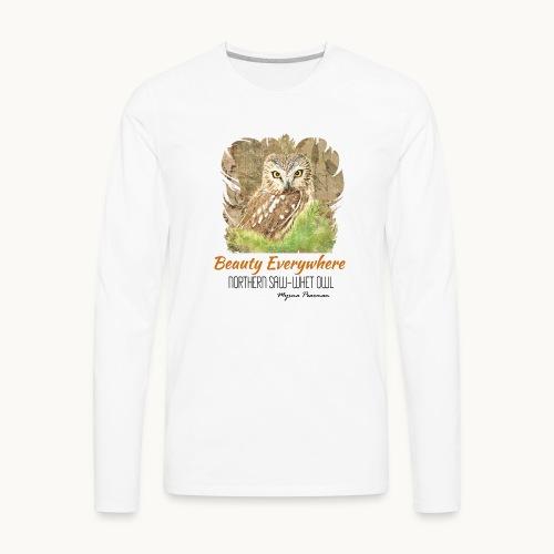 Beauty Everywhere Carolyn Sandstrom - Men's Premium Long Sleeve T-Shirt