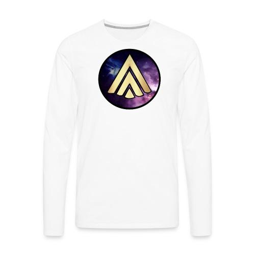 CosmicThomas Logo - Men's Premium Long Sleeve T-Shirt